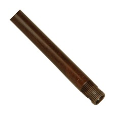 12-Inch Ceiling Fan Downrod for Craftmade Fans - Brown Finish