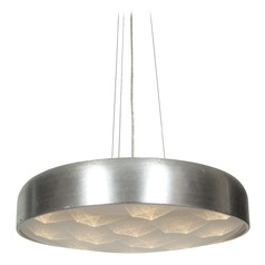 Access Lighting Meteor Brushed Silver LED Pendant Light