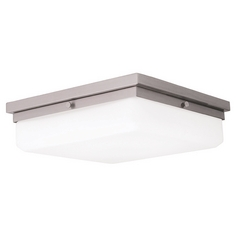 Livex Lighting Allure Brushed Nickel LED Flushmount Light