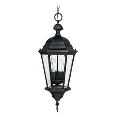 Capital Lighting Carraige House Black Outdoor Hanging Light