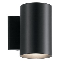 Modern Outdoor Wall Light Black by Kichler Lighting