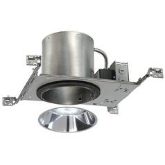 6-Inch LED Recessed Lighting Kit with Clear Alzak Trim