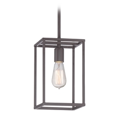 Quoizel Lighting New Harbor Western Bronze Mini-Pendant Light