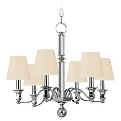 Hudson Valley Lighting Charlotte Polished Nickel Chandelier