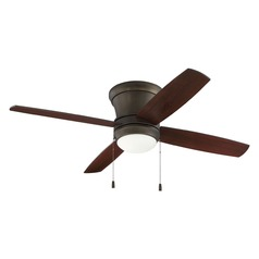 Craftmade Lighting Laval Hugger Espresso Ceiling Fan with Light