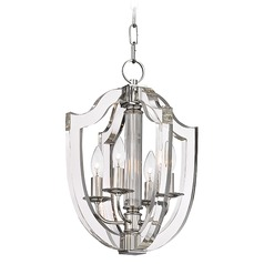 Hudson Valley Lighting Arietta Polished Nickel Pendant Light