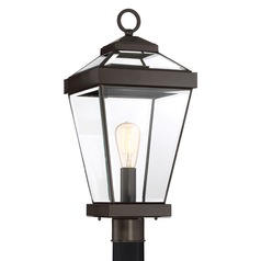 Quoizel Lighting Ravine Western Bronze Post Light