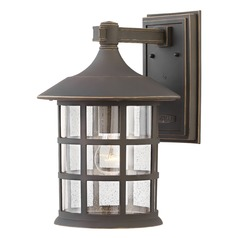 Hinkley Lighting Freeport Oil Rubbed Bronze Outdoor Wall Light