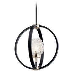 Kichler Lighting Moyra Black Pendant Light