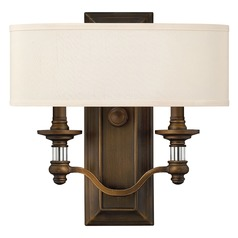 Hinkley Lighting Sussex English Bronze Sconce