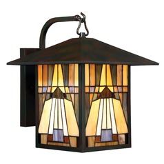 Quoizel Lighting Inglenook Valiant Bronze Outdoor Wall Light