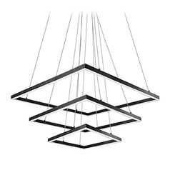 Kuzco Lighting Modern Black LED Pendant 3000K 14386LM
