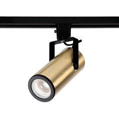 WAC Lighting Brushed Brass LED Track Light J-Track 3000K 920LM
