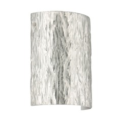 Besa Lighting Tamburo Satin Nickel LED Sconce