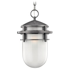 Hinkley Lighting Reef Hematite LED Outdoor Hanging Light