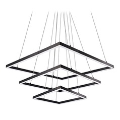 Kuzco Lighting Modern Black LED Pendant 3000K 19354LM