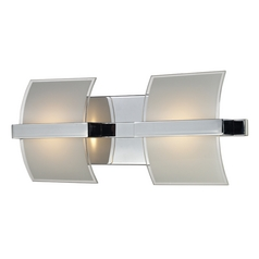 Modern LED Bathroom Light in Chrome Finish