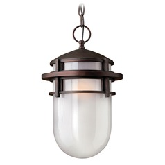 Hinkley Lighting Reef Victorian Bronze LED Outdoor Hanging Light