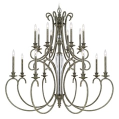 Capital Lighting Everleigh French Greige Chandelier