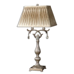 The Uttermost Company Table Lamp with Natural / Beige Shades 26924