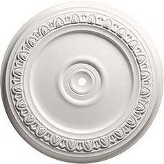 Decorative Medallion for Ceiling Lights - 18/-5/8-Inches Wide