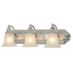 Design Classics Lighting Three-Light Bathroom Vanity Light 569-26