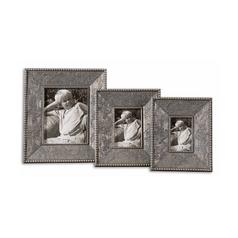 Frame in Antique Silver Leaf Finish