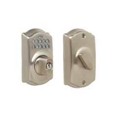 Schlage Keypad Deadbolt BE365-CAM-619