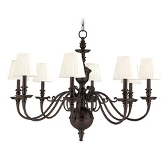 Hudson Valley Lighting Charleston Old Bronze Chandelier