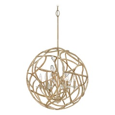 Gold Pendant Light by Hinkley Lighting