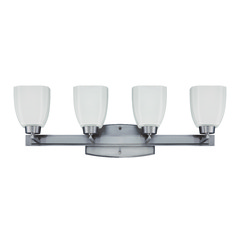 Craftmade Bridwell Brushed Satin Nickel Bathroom Light
