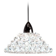 WAC Lighting Giselle Chrome Mini-Pendant Light with Coolie Shade