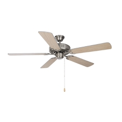 Ceiling Fan in Satin Nickel Finish
