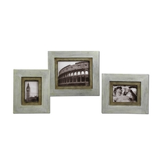 Frame in Distressed Ivory Finish