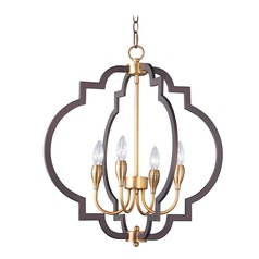 Maxim Lighting Crest Bronze / Brass Chandelier