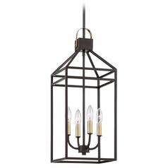 Quoizel Lighting Lexington Western Bronze Mini-Pendant Light