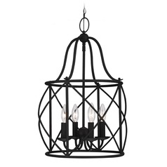 Sea Gull Lighting Turbinio Blacksmith Pendant Light