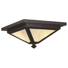 Livex Lighting Montclair Mission Bronze Close To Ceiling Light