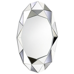 Whitehouse Oval 28.5-Inch Mirror