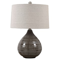 Uttermost Batova Smoke Grey Lamp