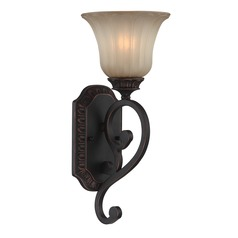 Lite Source Crescentia Antique Bronze Sconce