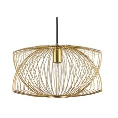 Nuevo Lighting Helio Pendant Light in Matte Gold
