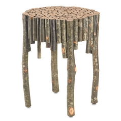 Currey and Company Lighting Natural Coffee & End Table