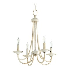 Quorum Lighting Brooks Persian White Mini-Chandelier