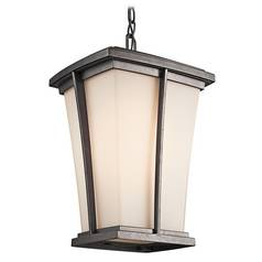 Kichler Outdoor Hanging Light in Iron Finish