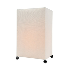 Lite Source Lighting Sarika Black Table Lamp with Rectangle Shade