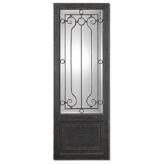 Uttermost Teulada Distressed Black Mirror