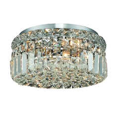 Destination Lighting Modern Crystal Ceiling Light - 12-Inches Wide 2268