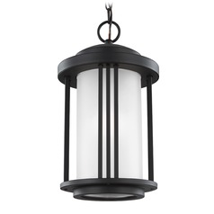 Sea Gull Crowell Black Outdoor Hanging Light