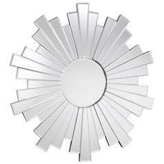 Manhattan Round 38-Inch Mirror